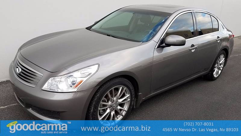 Used Cars in Las Vegas 2007 Infiniti G35