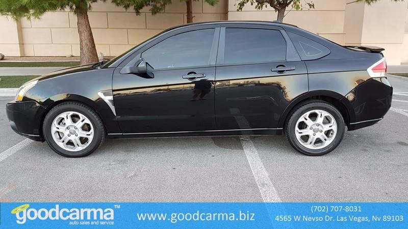 2008 Ford Focus Ses 4dr Sedan In Las Vegas Nv Good Carma