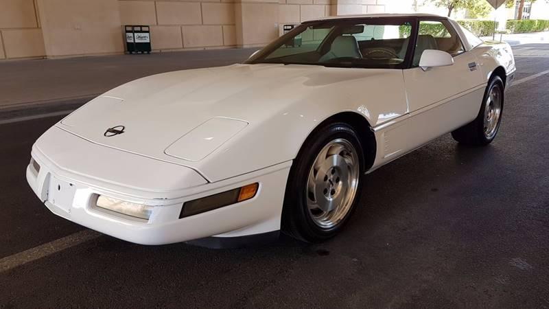 Used Cars in Las Vegas 1996 Chevrolet Corvette