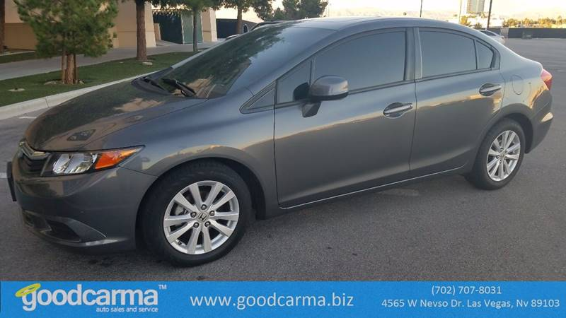 Used Cars in Las Vegas 2012 Honda Civic