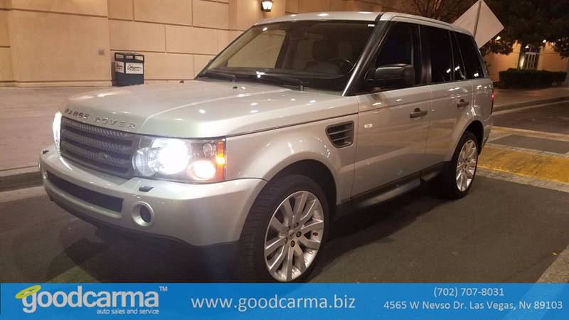 Used Cars in Las Vegas 2009 Land Rover Range Rover Sport