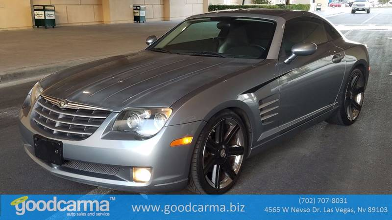 Used Cars in Las Vegas 2004 Chrysler Crossfire