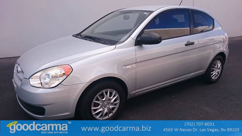 Used Cars in Las Vegas 2007 Hyundai Accent