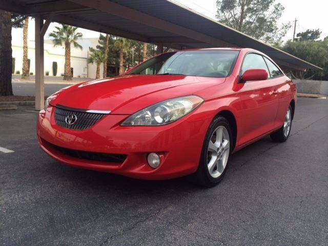 2006 toyota camry solara se sport v6 2dr coupe in las vegas nv good carma. Black Bedroom Furniture Sets. Home Design Ideas