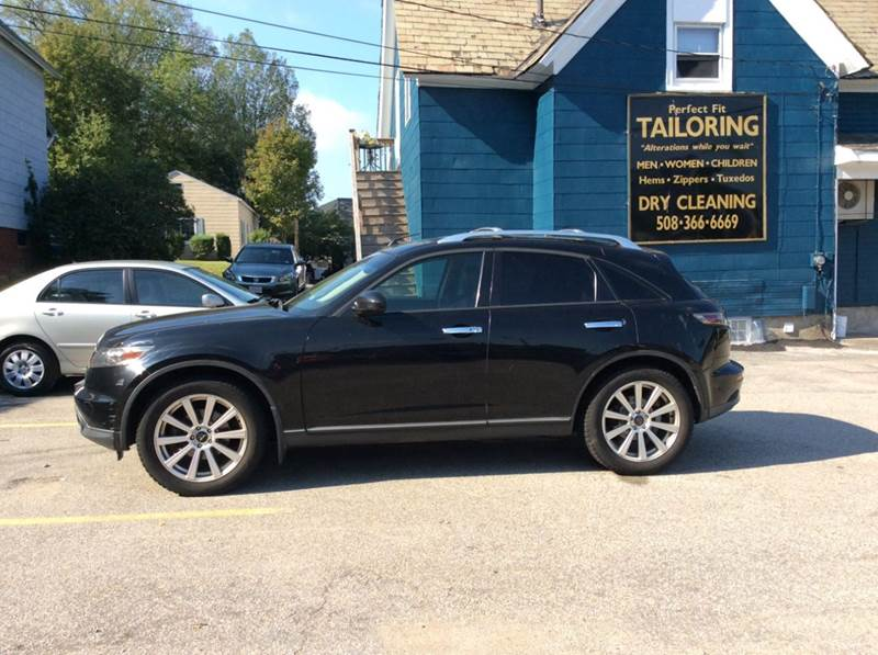 2005 Infiniti Fx45 Awd 4dr Suv In Worcester Ma Vix Auto Sales