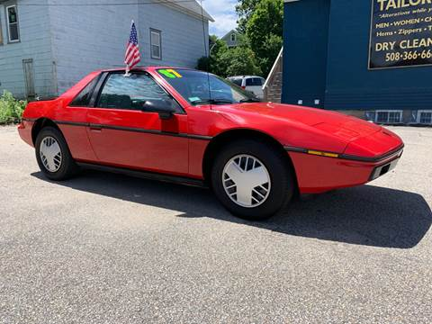 1986 Pontiac Fiero for sale in Worcester, MA