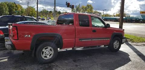 2004 Chevrolet Silverado 1500 for sale in Youngstown, OH