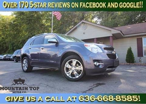 2013 Chevrolet Equinox for sale in Winfield, MO