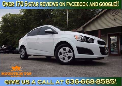 2014 Chevrolet Sonic for sale in Winfield, MO