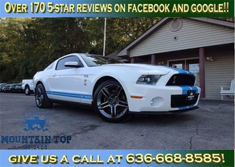 2010 Ford Shelby GT500 for sale in Winfield, MO