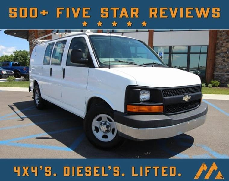 Mountain Top Motors >> 2008 Chevrolet Express Cargo 1500 3dr Cargo Van In Troy Mo