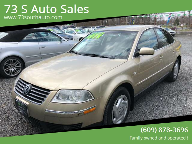 2002 Volkswagen Passat 4dr Gls 1 8t Turbo Sedan In Hammonton Nj 73