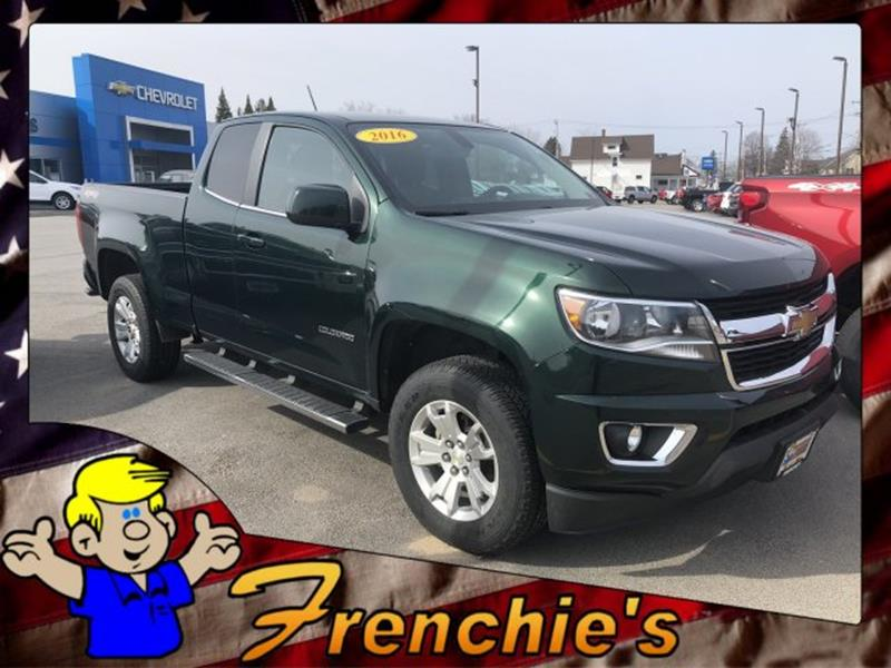 2016 Chevrolet Colorado 4x4 LT 4dr Extended Cab 6 ft  LB In