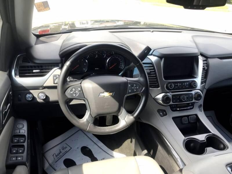 2016 Chevrolet Tahoe 4x4 LT 4dr SUV - Massena NY