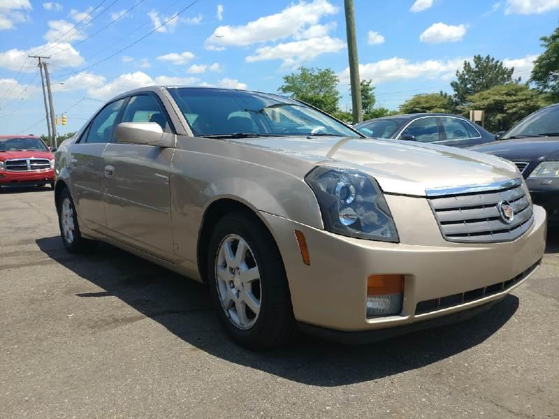 2006 Cadillac CTS for sale at Metro Auto Broker in Inkster MI