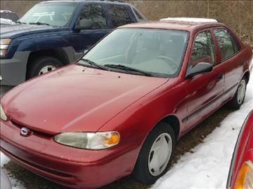 2001 Chevrolet Prizm for sale in Inkster, MI