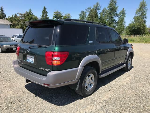 2002 Toyota Sequoia SR5 4WD 4dr SUV - Edgewood WA