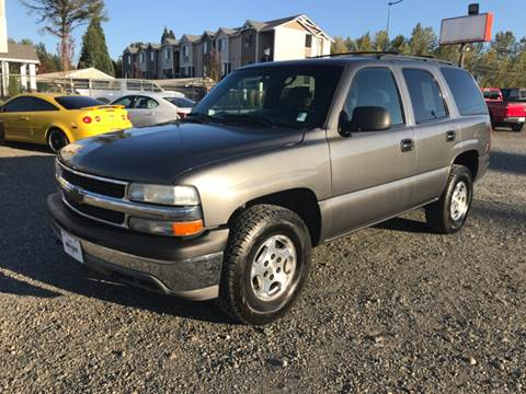 2001 Chevrolet Tahoe for sale in Edgewood, WA