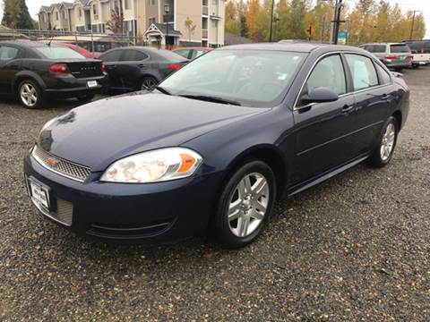 2012 Chevrolet Impala for sale in Edgewood, WA