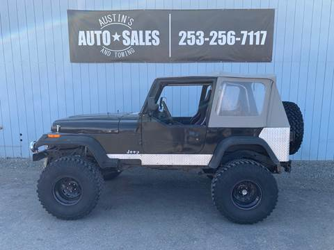 1995 Jeep Wrangler for sale in Edgewood, WA