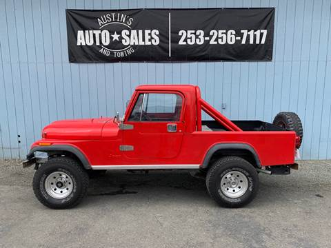 1983 Jeep Scrambler for sale in Edgewood, WA