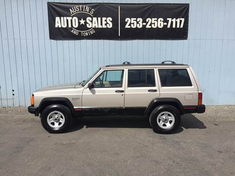 1996 Jeep Cherokee for sale in Edgewood, WA