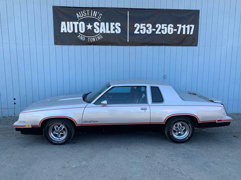 1984 Oldsmobile Cutlass Calais for sale in Edgewood, WA