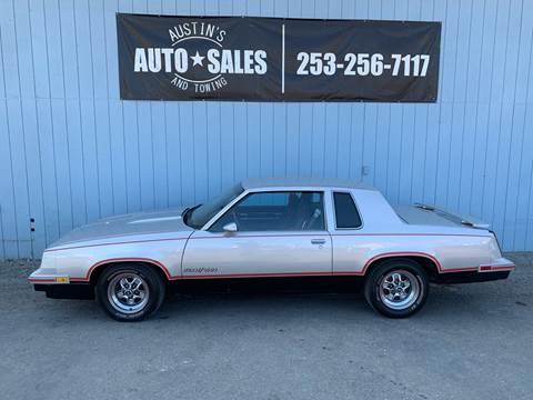 1984 Oldsmobile Cutlass Calais for sale in Edgewood, WA