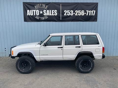 1997 Jeep Cherokee for sale in Edgewood, WA