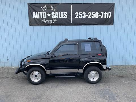1994 GEO Tracker for sale in Edgewood, WA