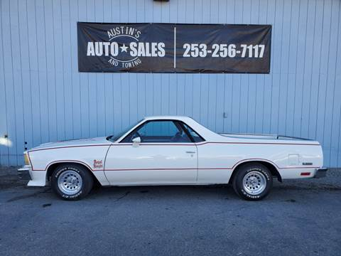 Craigslist Seattle Cars By Owner >> 1978 Chevrolet El Camino For Sale In Edgewood Wa