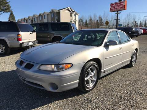 2000 Pontiac Grand Prix for sale in Edgewood, WA