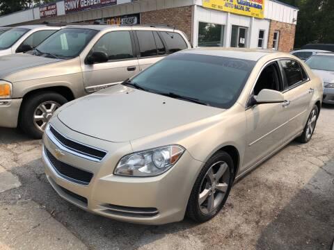2012 Chevrolet Malibu for sale at Sonny Gerber Auto Sales in Omaha NE