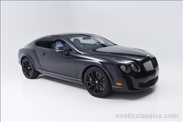 2010 Bentley Continental Supersports for sale in Syosset, NY