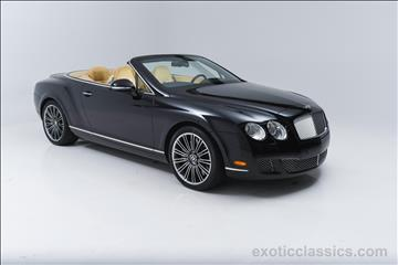 2010 Bentley Continental GTC Speed for sale in Syosset, NY