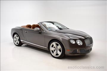 2013 Bentley Continental GTC for sale in Syosset, NY