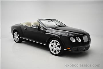2011 Bentley Continental GTC for sale in Syosset, NY