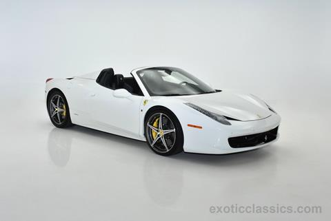 2014 Ferrari 458 Spider for sale in Syosset, NY