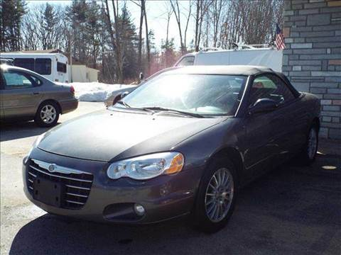 2005 Chrysler Sebring for sale at Chris Nacos Auto Sales in Derry NH
