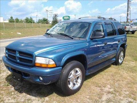 2003 Dodge Durango for sale at Chris Nacos Auto Sales in Derry NH