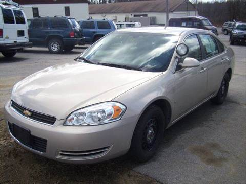 2008 Chevrolet Impala for sale at Chris Nacos Auto Sales in Derry NH