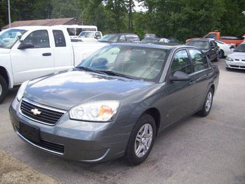 2006 Chevrolet Malibu for sale at Chris Nacos Auto Sales in Derry NH