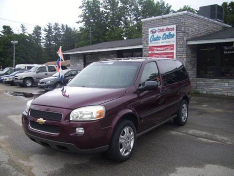2007 Chevrolet Uplander for sale at Chris Nacos Auto Sales in Derry NH