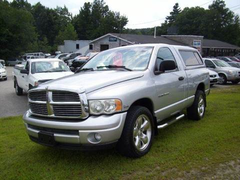 2003 Dodge Ram Pickup 1500 for sale at Chris Nacos Auto Sales in Derry NH