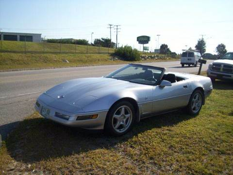 1996 Chevrolet Corvette for sale at Chris Nacos Auto Sales in Derry NH