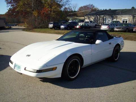 1992 Chevrolet Corvette for sale at Chris Nacos Auto Sales in Derry NH