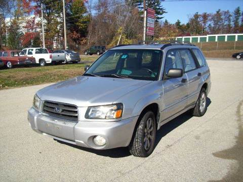 2005 Subaru Forester for sale at Chris Nacos Auto Sales in Derry NH