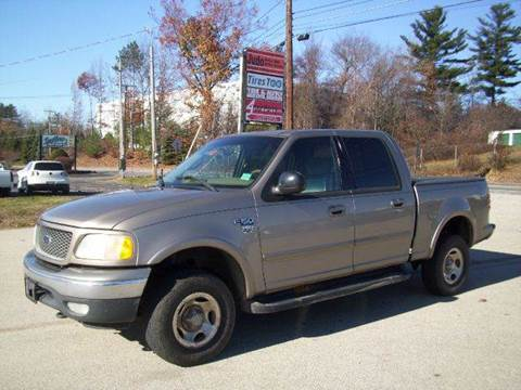 2001 Ford F-150 for sale at Chris Nacos Auto Sales in Derry NH