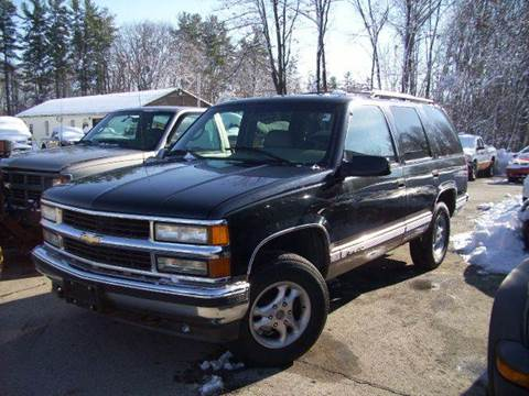 1996 Chevrolet Tahoe for sale at Chris Nacos Auto Sales in Derry NH