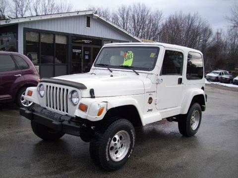 1998 Jeep Wrangler for sale at Chris Nacos Auto Sales in Derry NH